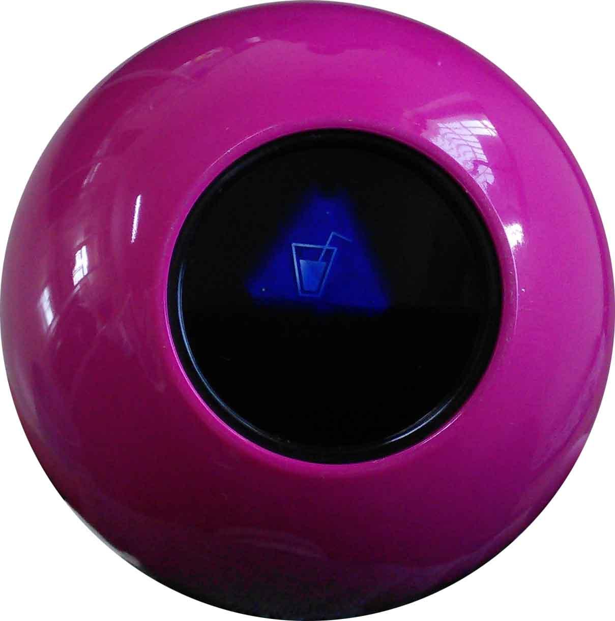 10 cm custom magic 8 ball. Black Bedroom Furniture Sets. Home Design Ideas